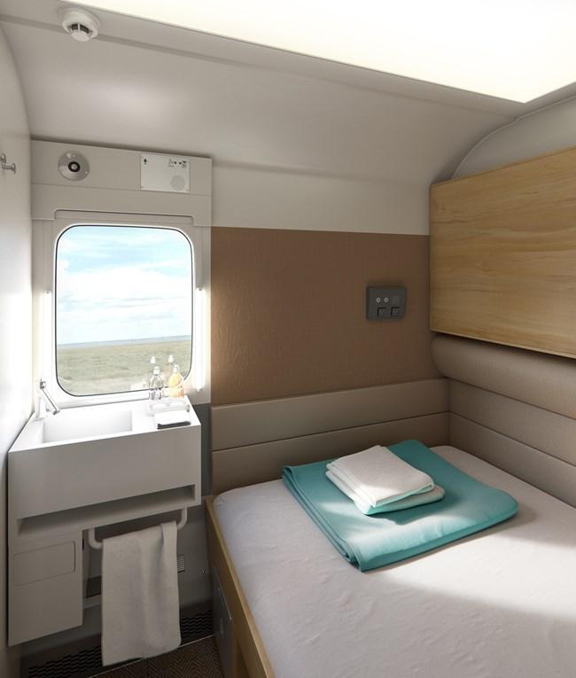 Caledonian Sleeper reveals prototype Mk 5 interiors - Page 1