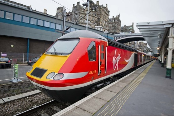 First hst in virgin trains east coast livery enters service for Food bar virgin east coast