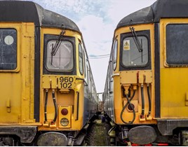 Two Class 309 vehicles at the ERM. JASON HOOD.