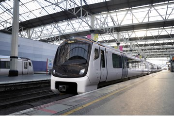 An artist's impression of a South West Aventra. FIRSTGROUP.